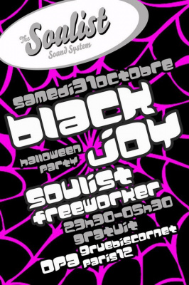 Soulist Sound System, Blackjoy, Halloween, OPA, Paris, Soirée, Clubbing