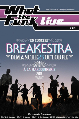 What The Funk, Breakestra, Maroquinerie, Concert, Paris