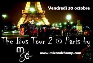 Magic Bus Tour, Soirée, Paris, Clubbing, Bus