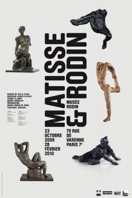 Auguste Rodin, Henri Matisse, Musée Rodin, Exposition, Culture, Paris