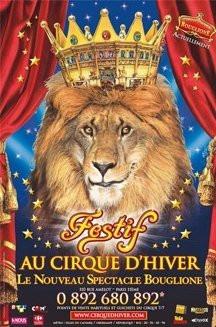 Bouglione, Festif, Cirque d'Hiver, Cirque, Spectacle, Paris