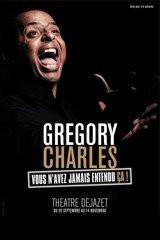 Gregory Charles, Théâtre, Dejazet, Paris