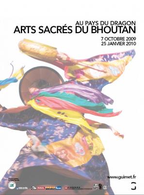 Pays du Dragon, Arts sacrés du Bhoutan, Musée, Guimet, Paris