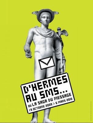Hermes, SMS, Musée, Poste, Paris
