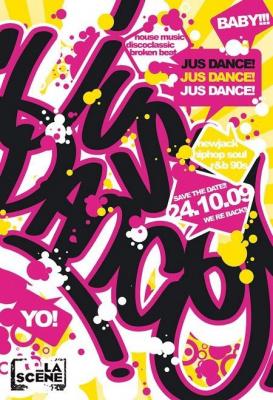 Jus Dance, Scène Bastille, Soirée, Paris, Clubbing