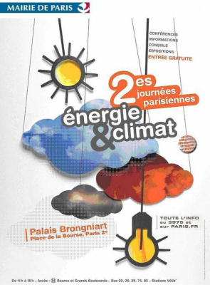 Journées Parisiennes, Energie, Climat, Palais Brongniart, Paris
