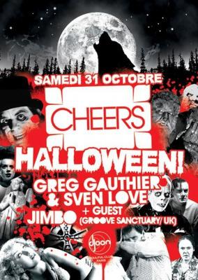 Cheers, Jimbo, Sven Löve, Greg Gauthier, Djoon, Paris, Soirée, Clubbing