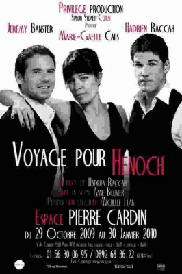 Voyage pour Henoch, Spectacle, Paris, Espace Pierre Cardin
