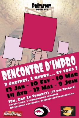 Rencontre d'impro 4x4 - Les Prêtatout invitent les Enfants Gâtés