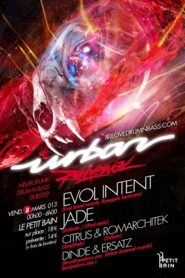 URBAN RENEWAL! w/ EVOL INTENT and JADE.