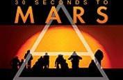 30 seconds to mars, triangle, coucher de soleil