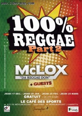 reggae, mc lox