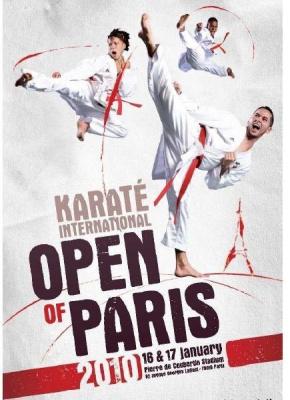 karaté , open de paris, compétition, kimonos
