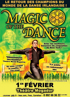 Magic of the Dance, Mogador, Spectacle, Danse, Paris