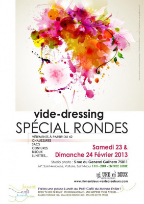 Vide-dressing spécial RONDES