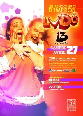 Match d'Improvisation théâtrale La Ludo vs Les Malades de l'imaginaire