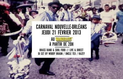 CARNAVAL NOUVELLE-ORLÉANS @ WANDERLUST
