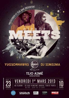 Soirée MEETS (Hip Hop et House)