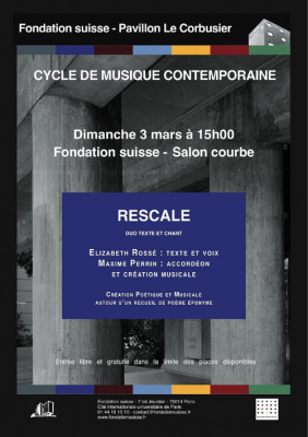 Cycle de musique contemporaine - Duo Rescale