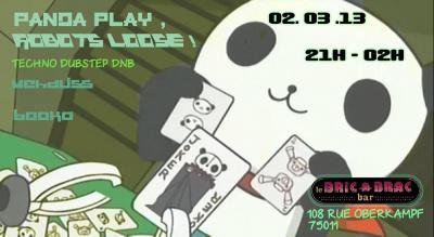 Panda Play, Robots Loose