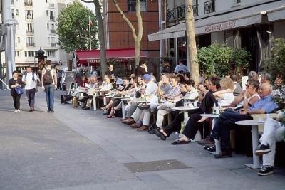 café beaubourg guide des terrasses 2010