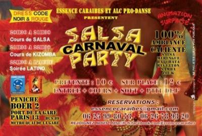 salsa carnaval party péniche BOER 2