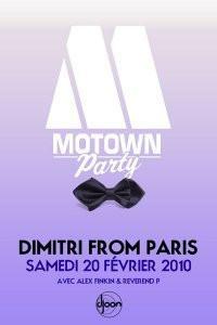 motown party djoon février 2010