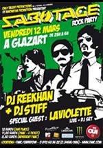 sabotage rock party glazart