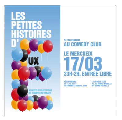 petites histoires d'eux comedy club