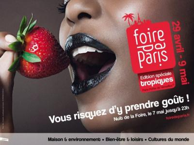 foire de Paris 2010 affiche officielle HD