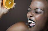 foire de paris femme orange