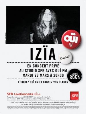 concert izia