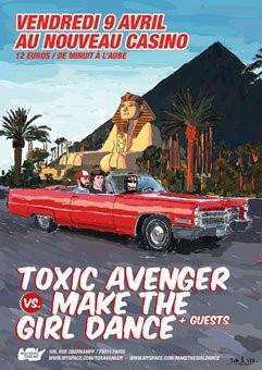 toxic avenger make the girl dance