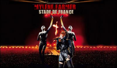 mylène farmer stade de france concert cinéma DVD Blu-Ray