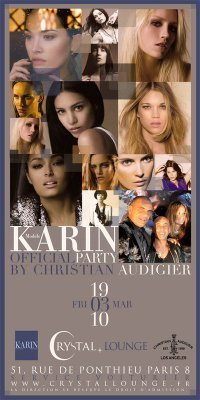 karin models official party crystal lounge