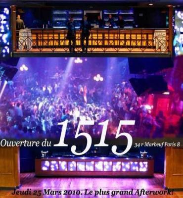 1515 ouverture afterwork