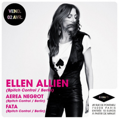 ellen allien régine's
