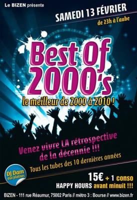 Best of 2000's Le meilleur de 2000 à 2010