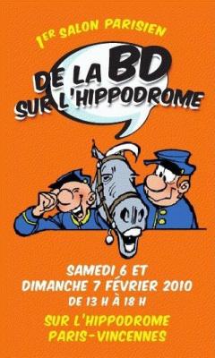 Premier salon parisien de la BD Week-end BD Hippodrome de Vincennes