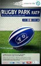 Rugby Park RATP 2010