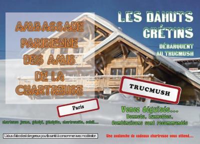 Les DAHUTS CRETINS 4 with Skippy