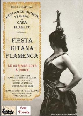 Fiesta Gitana Flamenca au Cirque Romanes !