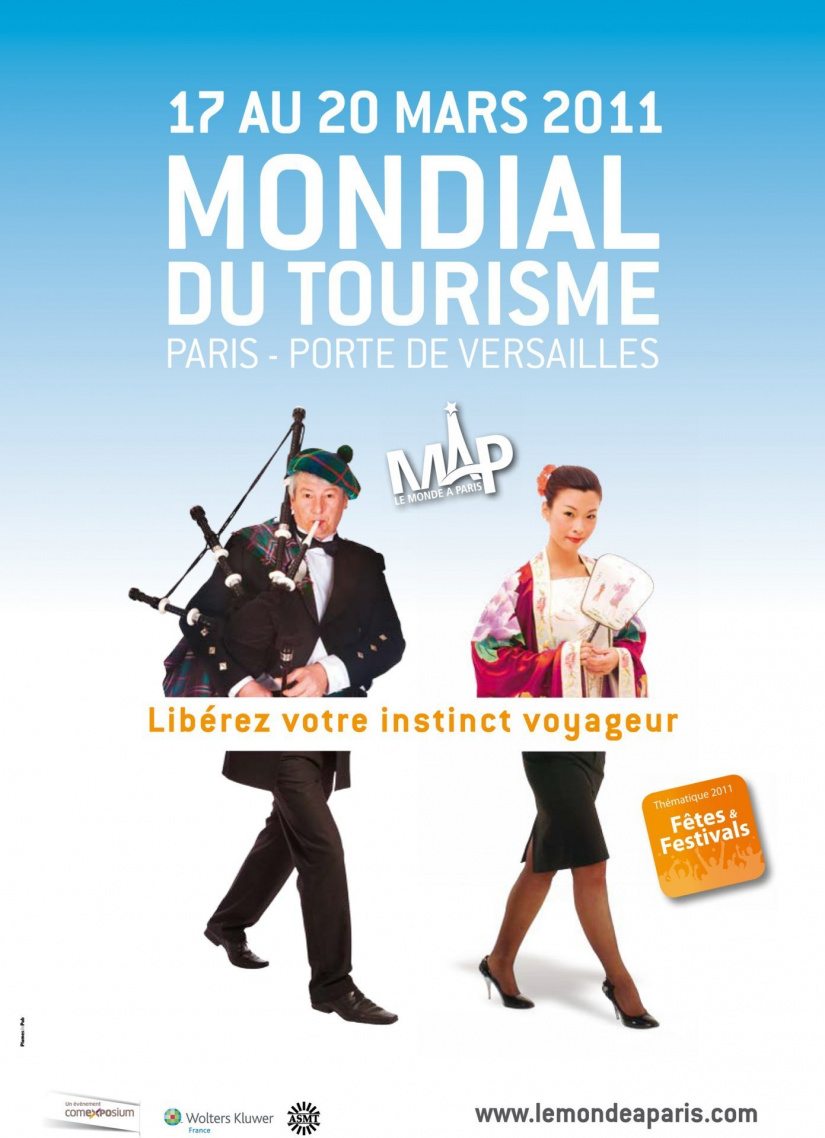 Le salon mondial du tourisme map le monde paris for Salon mondial du tourisme paris