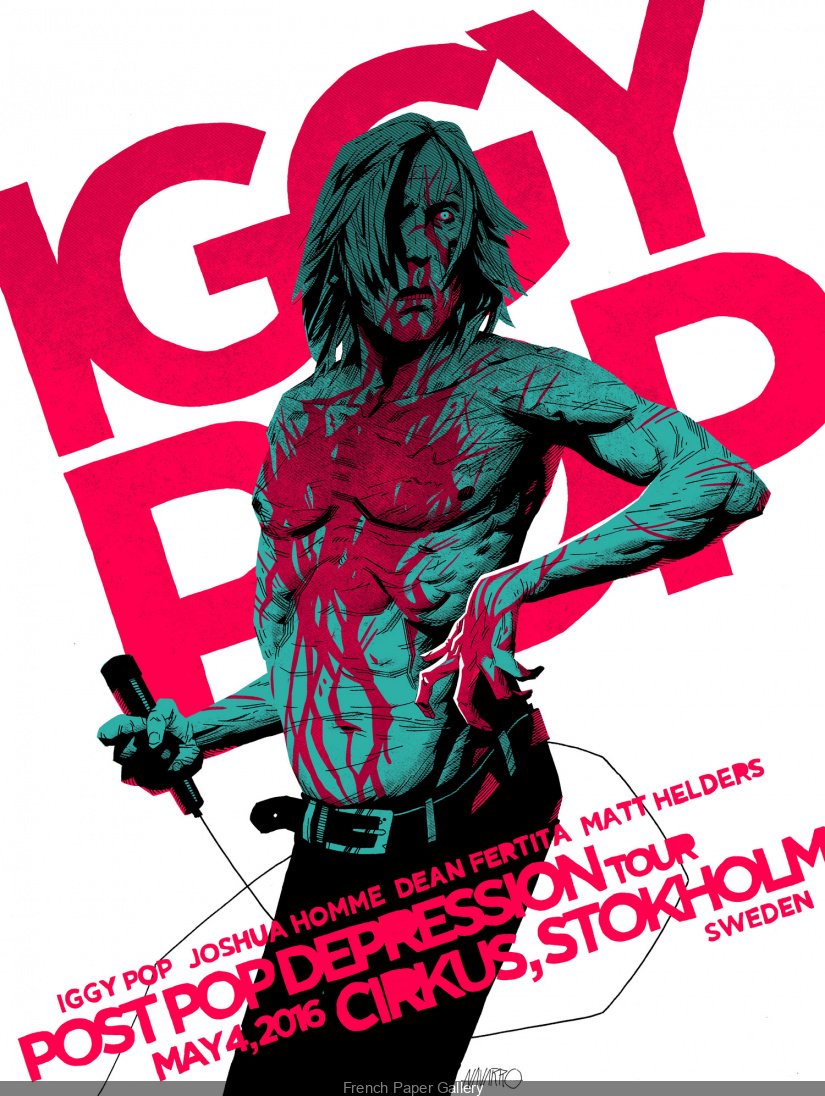 Iggy Pop Expo