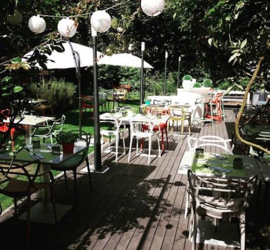 Le jardin nouvelle terrasse cach e paris - Restaurant terrasse jardin grenoble mulhouse ...
