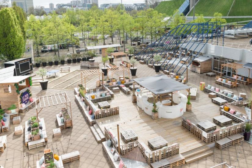 papa cabane retour de la belle terrasse estivale paris. Black Bedroom Furniture Sets. Home Design Ideas