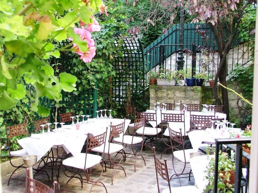 Terrasse Paris Restaurant Bucolique