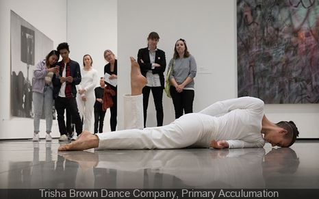 Parades for FIAC 2017 : Trisha Brown Dance Company, Primary Acculumation