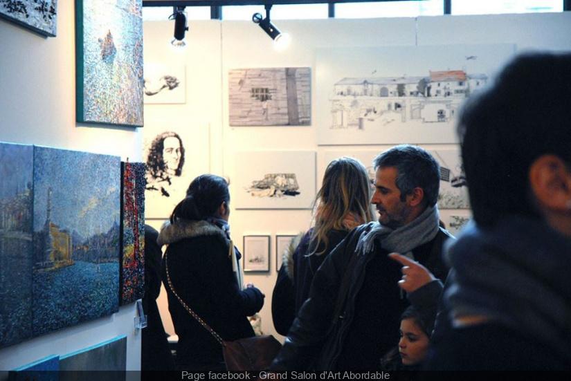 Le grand salon d 39 art abordable la bellevilloise octobre for Grand salon d art abordable