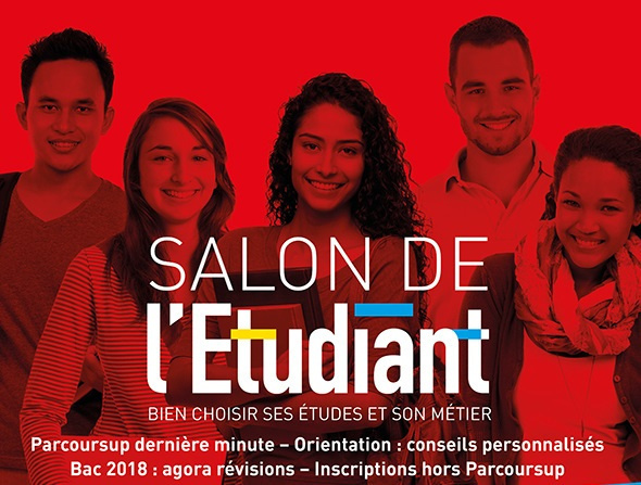 Salon de l 39 etudiant 2018 la porte de versailles for Salon etudiant 2017 paris